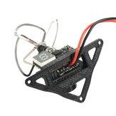 2PCS Camera Frame Mount Black For Eachine TX01 TX02 FPV NTSC Camera E010 E010C E010S Tiny Whoop