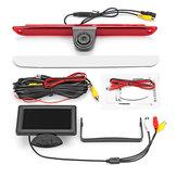 Brake Light Rear Reverse Car Camera + 4.3 Inch Monitor for Mercedes Sprinter VW