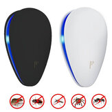 Loskii BR-04 2018 Enhanced Ultrasonic Plug-in LED Anti Mosquito Pest Repeller Killer Repeller