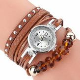 DUOYAD214CrystalCasualStyleDamen Armbanduhr