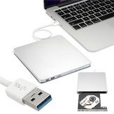 Usb ranura externa en dvd cd drive burner superdrive para windows xp / mac 10 os