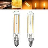Dimmerabile Retro 2W E12 E14 T20 Frigorifero LED COB filamento della lampadina bianco caldo