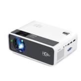 AUN D60 LED Projetor HD 2800 Lumens Suporta Resolução 1080p Múltiplas Portas Alto-falante embutido Projetor de Home Theater Inteligente Portátil Com Controle Remoto