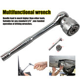 3/8 '' Multifunctionele ratel Quick Wrench Head Universal Socket Magic Wrench