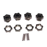 12 UNIDS ZD Racing 8068 17mm Rueda Hexagonal Adaptador para 9116 08427 1/8 2.4G 4WD Rc Coche Piezas