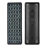 iPazzport KP-810-73B bluetooth Backlight Mini Wireless Keyboard for 4K Mi Box Remote Control