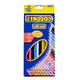 12 kolorów Średnie stężenie Kolorowych ołówków Zestaw kolorowych ołówków olejnych Artysta Malarstwo Szkicowanie Drewniany długopis Angielski Ołówek do rysowania w pudełku