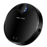 LIECTROUX ZK901 Robot Vacuum Cleaner Laser Map Navigation Sweeping Mopping 3000Pa Suction 450ml Electric Water Tank 4500mAh Long Battery Life