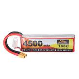 ZOP Power 7.4V 4500mAh 100C 2S Bateria Lipo XT60 Wtyczka do drona RC