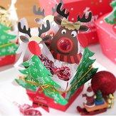25PCSbonitorenapirulitodecorações de cartão de papel decoração do presente de doces de natal