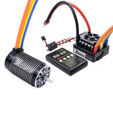 Surpass Hobby ROCKET 4068 Brushless Motor 120A Brushless ESC LED Programming Card Power Set for 1/8 RC Car Model Parts