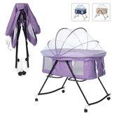 蚊帳付き多機能ベビーベッドポータブル折りたたみ式新生児ベッドサイドベッドクレードルベッド0〜3年間ゲームベッドをプレイ