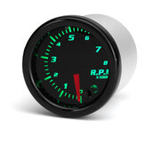 Universele 2 inch 52 mm toerenteller toerenteller 8K RPM digitale 7 kleuren LED-display auto meter