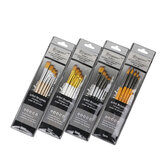 Giorgione 5pcs/set Painting Brush Set Gouache Paint Different Shape Nylon Oil Watercolor Brush Set Stationery Art Supplies
