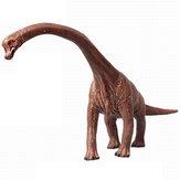 Educacional Grande Brachiosaurus Dinossauro Brinquedo Diecast Modelo de Presente de Aniversário Para O Menino Crianças