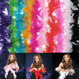 Trang phục Fluffy Feather Boa Hen Night Party Wedding Dress Up Khăn
