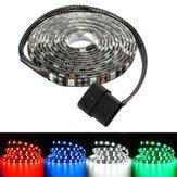 2m impermeable 5050 LED fondo de la tira flexible de luz pc caja de la computadora dc12v