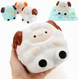 Squishy Jumbo Sheep 13cm Langsomt stigende med emballage Collection Gift Decor Soft Squeeze Toy