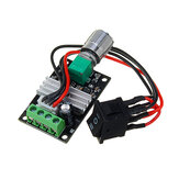 DC 6V 12V 24V 28V 3A 80W PWM Motor Speed Controller Regulator Adjustable Variable Speed Control Switch