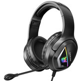 ONIKUMA X2 Gaming Headset 40mm Driver 3D Stereo Surround Sound Noise Reduction Microphone for PS3/4 Xbox PC
