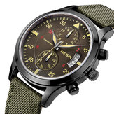 MEGIR ML2021G Chronograph Calendar Men Quartz Watches