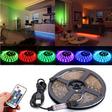 DC5V USB RGB 5050 Waterproof 17 Keys Remote Control LED Strip TV Back Lighting Kit