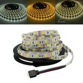 5M 5050 SMD Double couleur réglable en température Blanc Blanc chaud Non étanche LED Flexible Strip Light DC12V