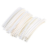3300Pcs 33 Values Each 100 Resistor 0603 SMD Resistor Kit Assorted Kit 1Ohm-1M Ohm 1%