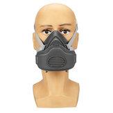 PM2.5 Masque à gaz Filtre automatique Anti-buée Tête réglable Filtre Filtre Coton