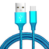 Bakeey 3m 2.1A Nylon Braided Type-C Fast Charging Data Cable for 8 Oneplus 6 Honor 10