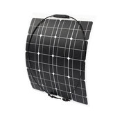 70W 18V Waterproof Semi-flexible Monocrystalline Solar Panel