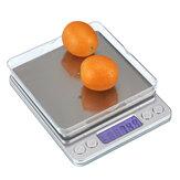 3 kg / 0,1 g elektronische Küchenwaage Digitalanzeige mit Waage für Lebensmittel