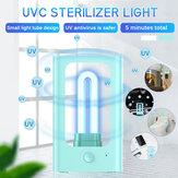 DC5V 253.6NM UV Germicida lampada UVC Sterilizzatore Luce USB Disinfezione disinfezione Induzione radar Illuminazione per abbigliamento per la casa