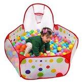 Outdoor Baby Ball Pool Falten Kinder Kleinkinder Spiele spielen Zelt Basketball Rainbow Balls Pool
