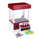 Karnaval Pençe Oyunu Doll Makine Mini Arcade Kapmak Vinç Oyuncaklar + 24 Paraları + 12 Yumurta