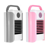 3 Gears Mini Air Cooling Fan USB Bærbar Aircondition Skrivebord Bord Fan Bluetooth / Broadcast