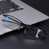 Unisex Progressive Multifocal Multifunktions-Intelligente automatische Zoom-Anti-Blau-Lesebrille