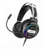 Lenovo H401 Gaming Headset Over-ear 3.5mm USB 7.1 Surround Sound Deep Bass Stereo Game Headphones with Mic for PC Laptop Gamer