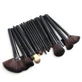 32pcs Pink Eyeshadow Eyebrow Blush Makeup Brushes Set
