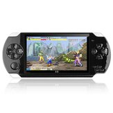 X6 8GB 128-bit 10000+ Game 4.3 inci PSP Definisi Tinggi Retro Handheld Video Game Konsol Pemain Game