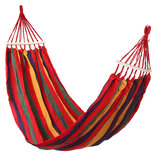 Canvas Camping Hammock Swing Hanging Bed Outdoor Garden Travel