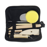 8PCS Clay Sculpting Wax Carving Pottery Strumenti Kit di modellazione ceramica polimerica
