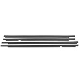 4PCS For LEXUS GX470 75722-60080 WEATHERSTRIP WINDOW BELT MOULDING 2003-2009