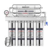 Sistema de filtragem de aço inoxidável da água potável do filtro do purificador de água de 6 fases