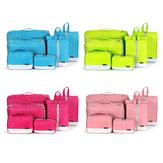 Polyester Home 7-piece Duffel Bag Travel Digital Storage Bag