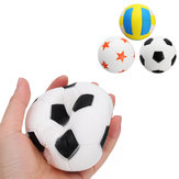 Jumbo Football Volleyball Squishy Slow Rising Cute Phone Straps Sport Ball Fun Kid Toy