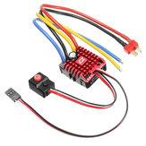 Hobbywing QuicRun ESC 1:10 1/8 WP Crawlerborstel Gebroken 80A Elektronische Snelheidsregelaar