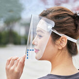 10 Stück Anti-Foaming Splash Proof Shield Anti-Fog-Gesicht Transparent Face Mask Mask Shield