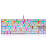 Motospeed K87S 87keys Blue Switch Retroilluminazione RGB Meccanico Gaming Wired Keyboard