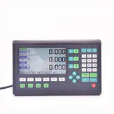 Najnowszy zestaw do frezowania tokarek DRO Zestaw LCD 2/3 osi AC 220 V Rusztowanie CNC Frezowanie Wyświetlacz cyfrowy odczyt i 2 sztuki 1m Liniowe optyczne enkodery